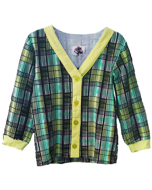 Sugarhill Check Cardigan-Unisex