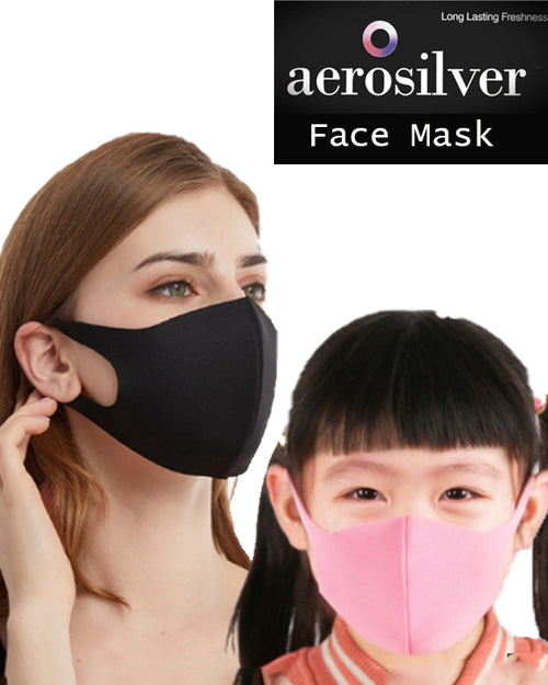 ADULT Aerosilver 3D Face Mask.