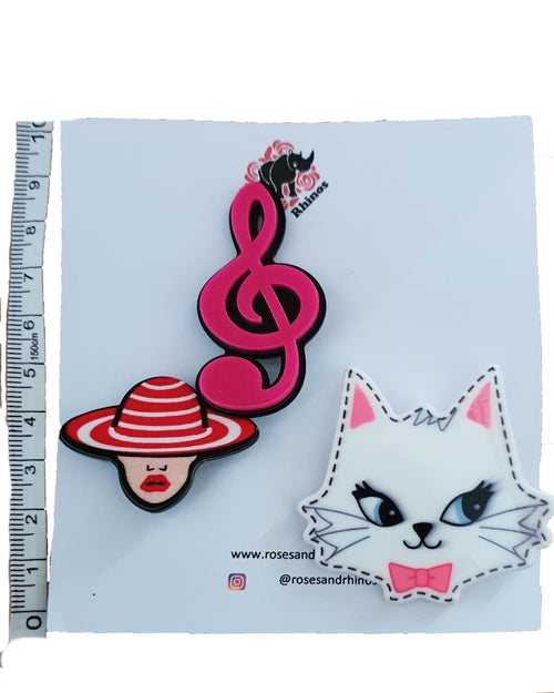 Cat Music x 2 Pin