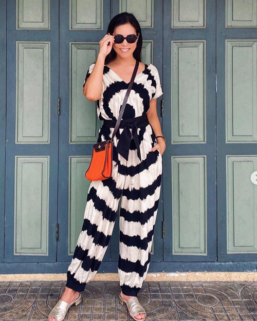 Women All Over Circle Jumpsuit