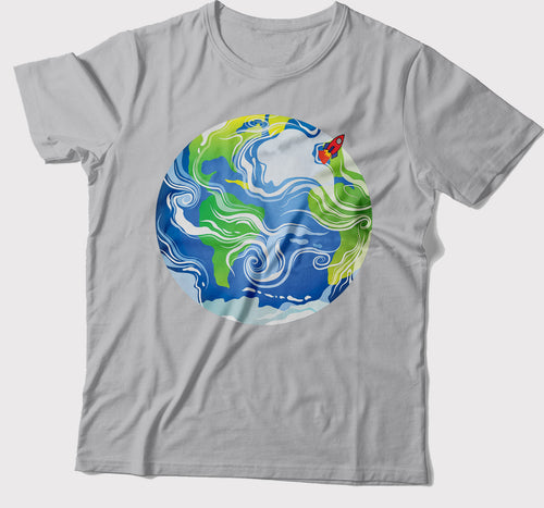 Earth T-Shirt - Roses & Rhinos