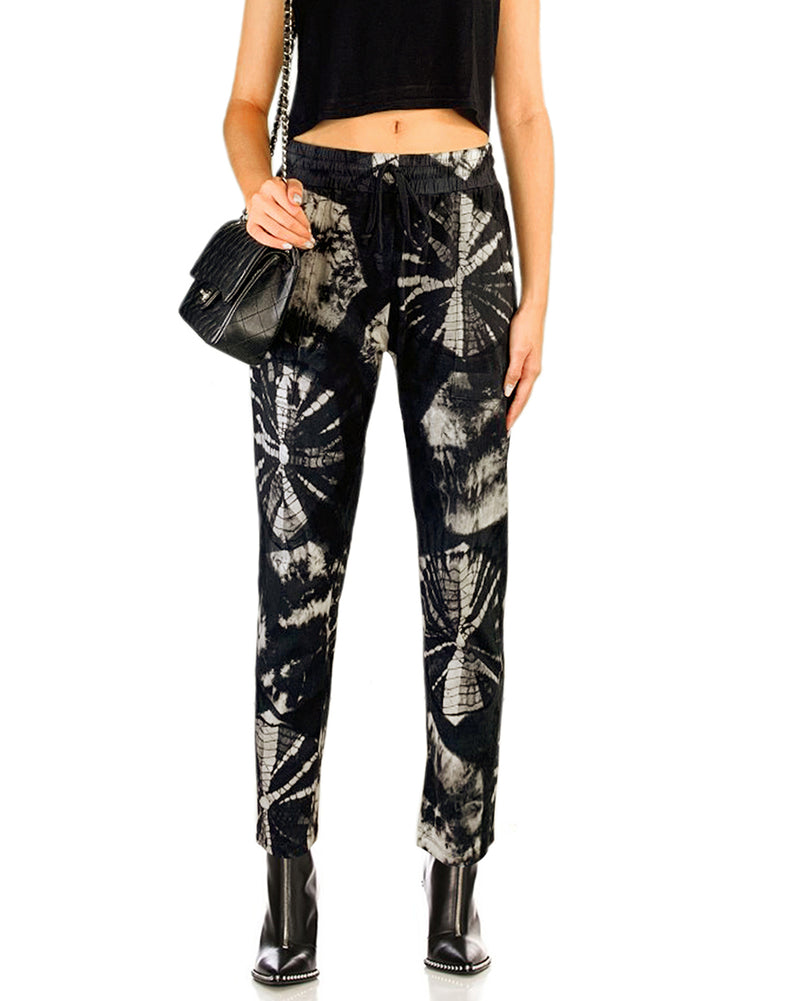 Women Shell Skinny Pants - Roses & Rhinos