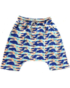 Geo Drop Crotch Shorts - Roses & Rhinos