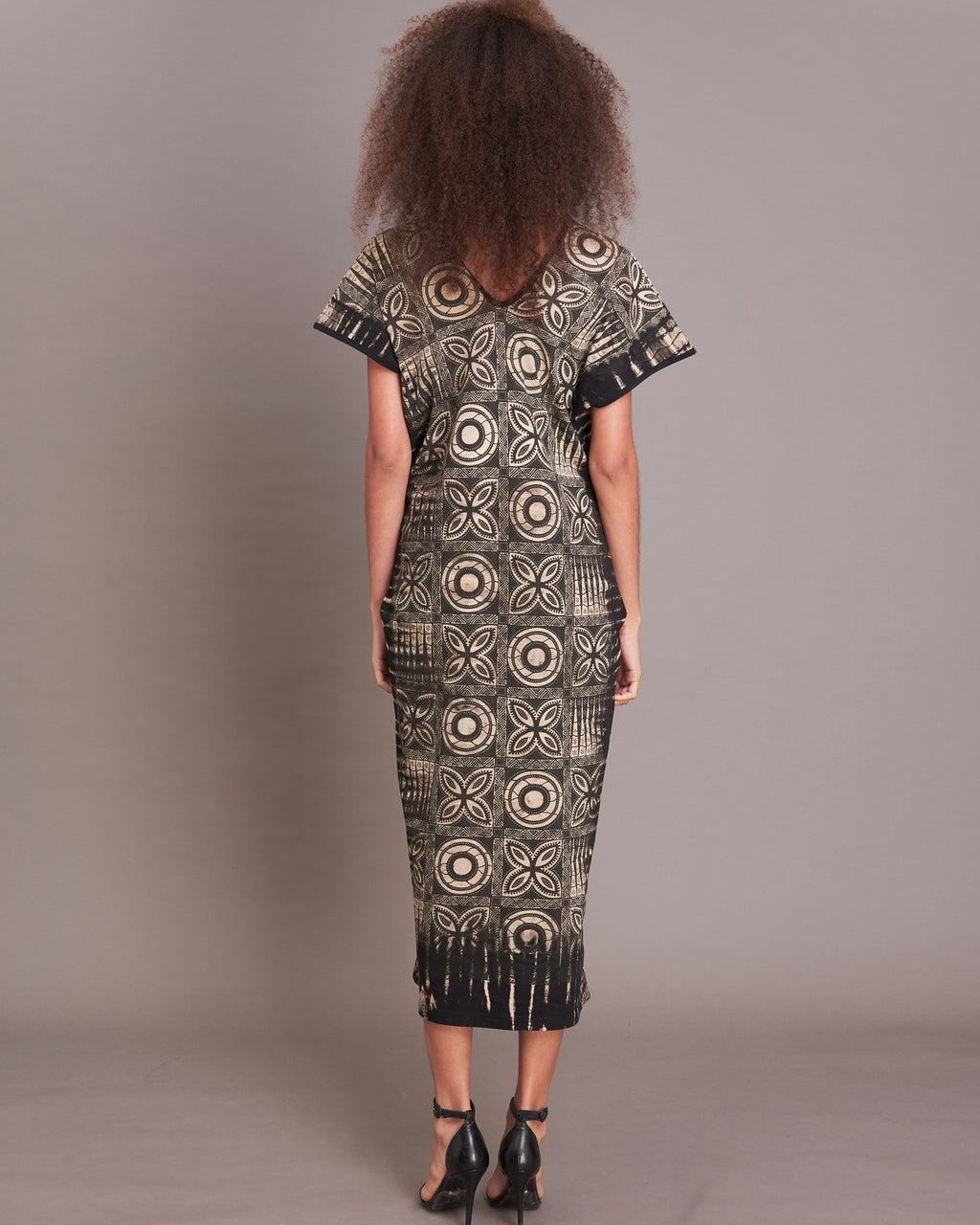 Women Gypsy Clover Straight Midi Dress - Roses & Rhinos