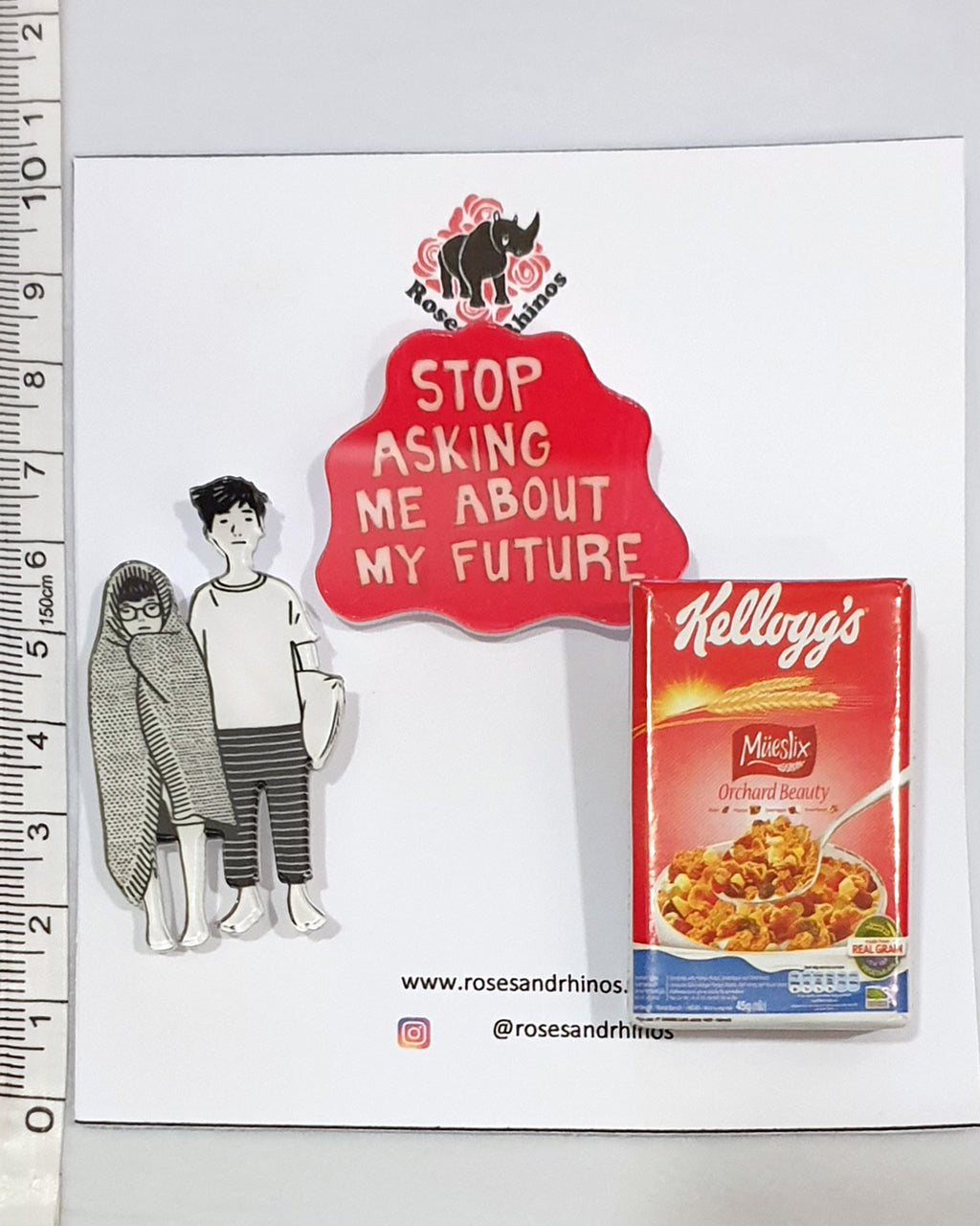 Kellogs Future x 3 Pin - Roses & Rhinos