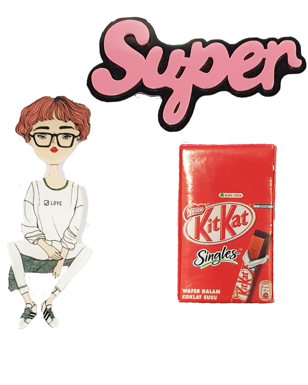 Kit Kat Super x 3 Pin