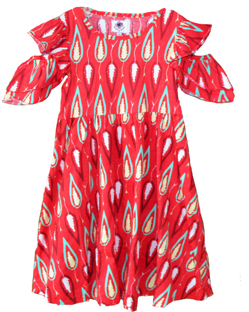 Leaf Peep Dress - Roses & Rhinos
