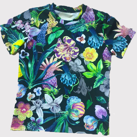 Vimma Mystical Flower T-Shirt