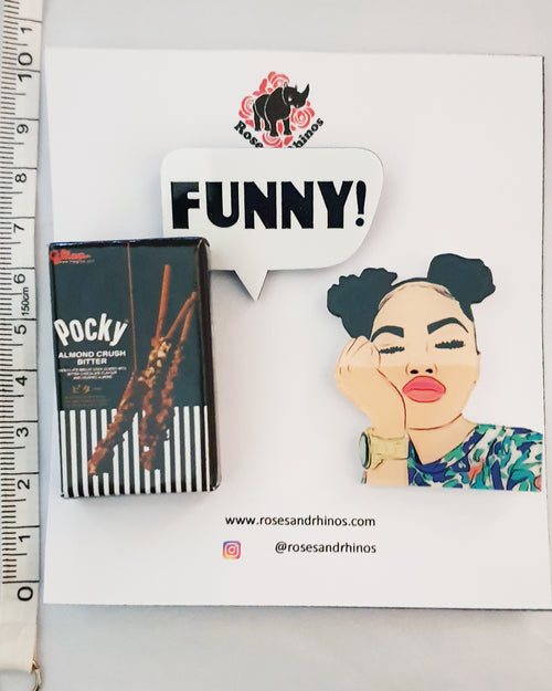 Pocky Funny Girl x 3 Pin