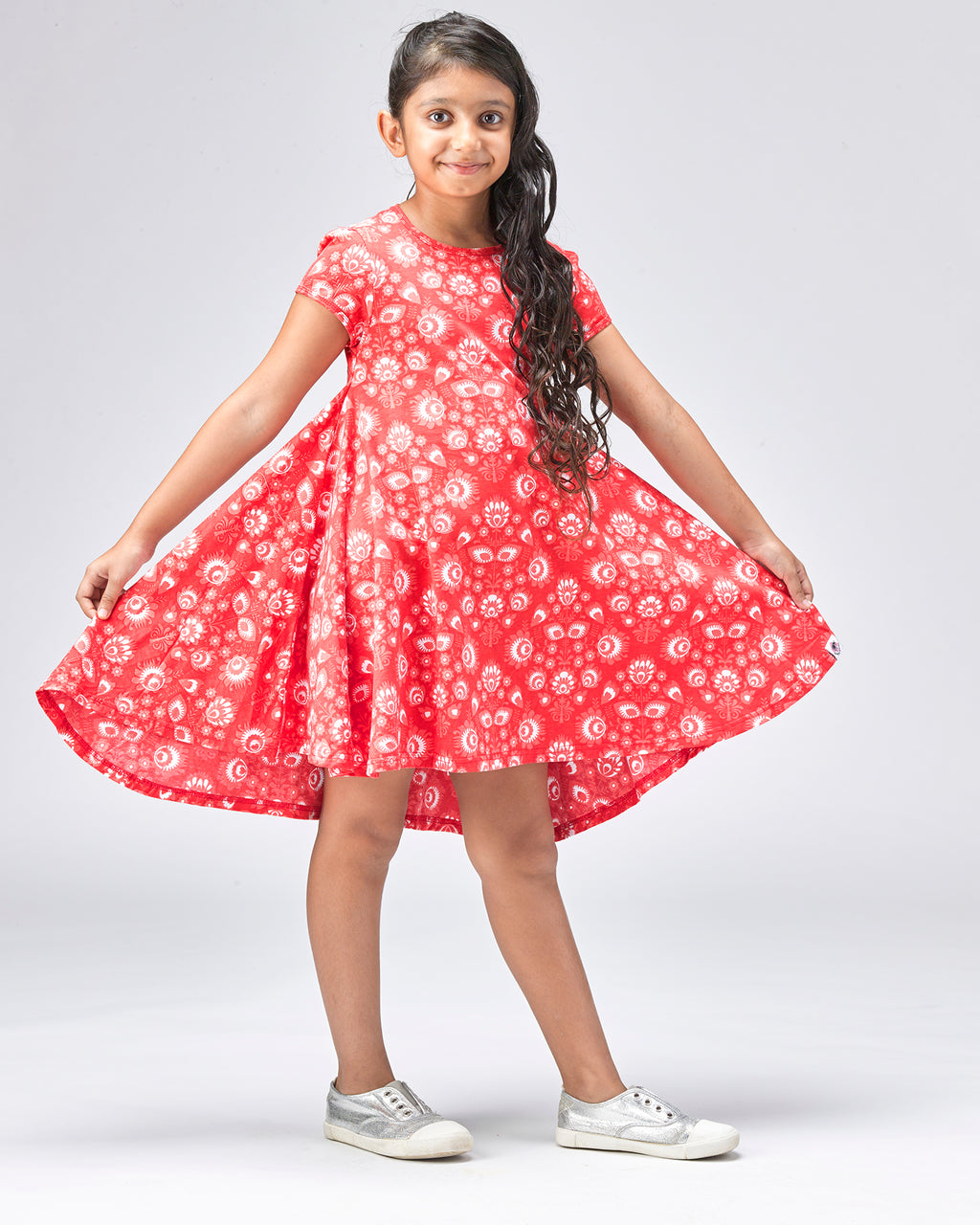 Camilla Swing Dress - Roses & Rhinos