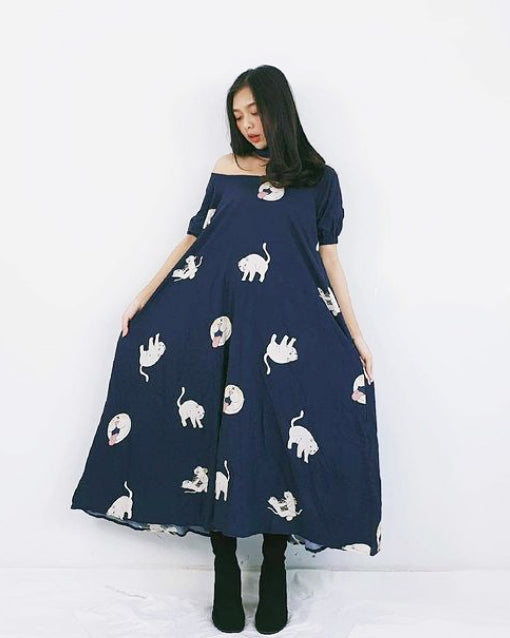 Sammi Catz Off the Shoulder Dress - Roses & Rhinos