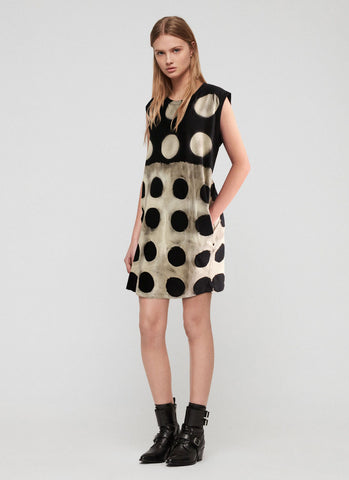 Nicci Check Collar Dress