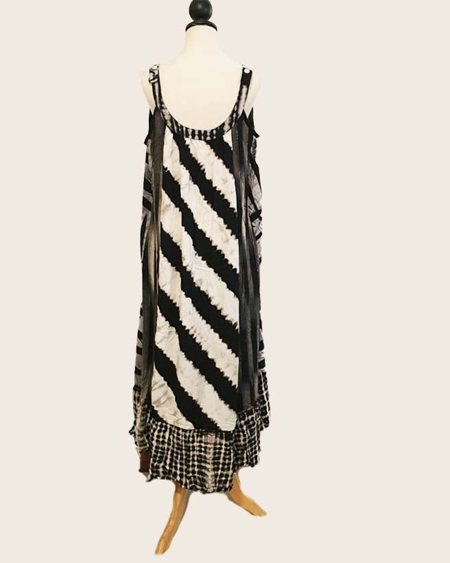 Women Sustainable Spot Front Maxi Dress