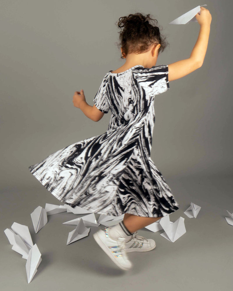 Waves Swingaling  Dress - Roses & Rhinos