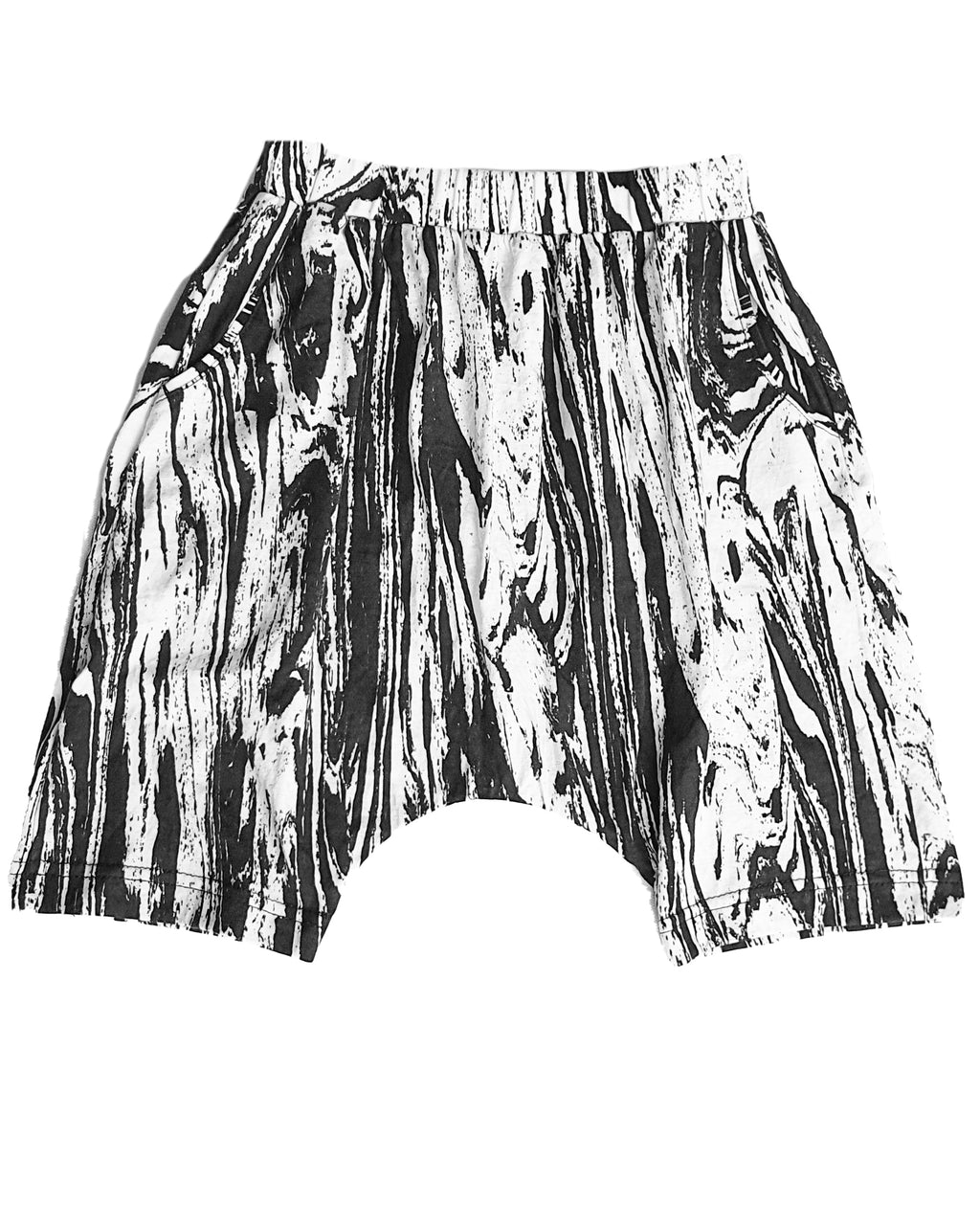 Waves Drop Crotch Shorts - Roses & Rhinos