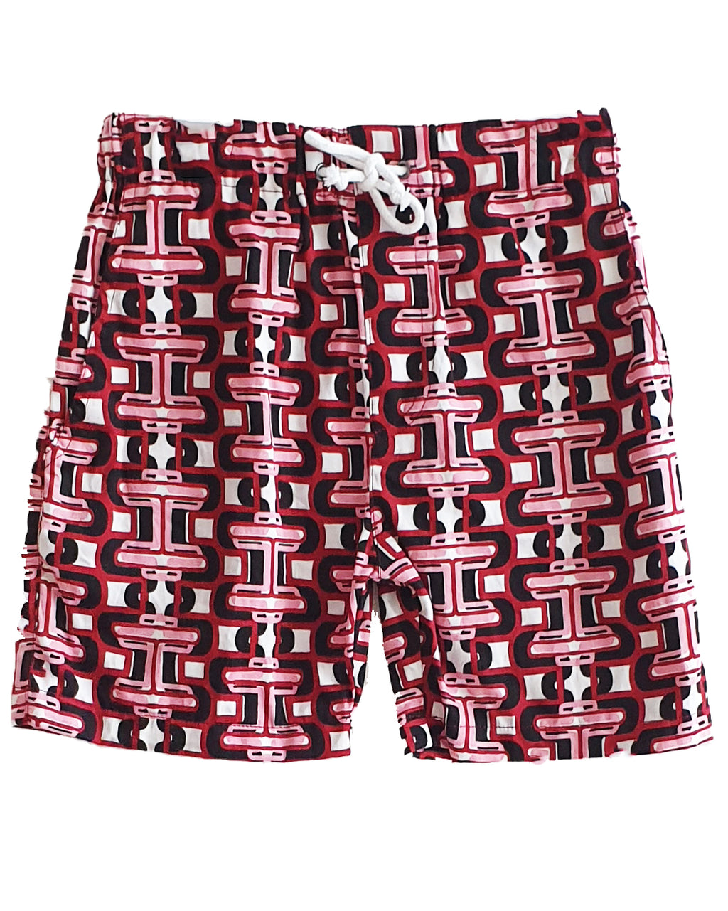 LL Cool Links Red Shorts - Roses & Rhinos