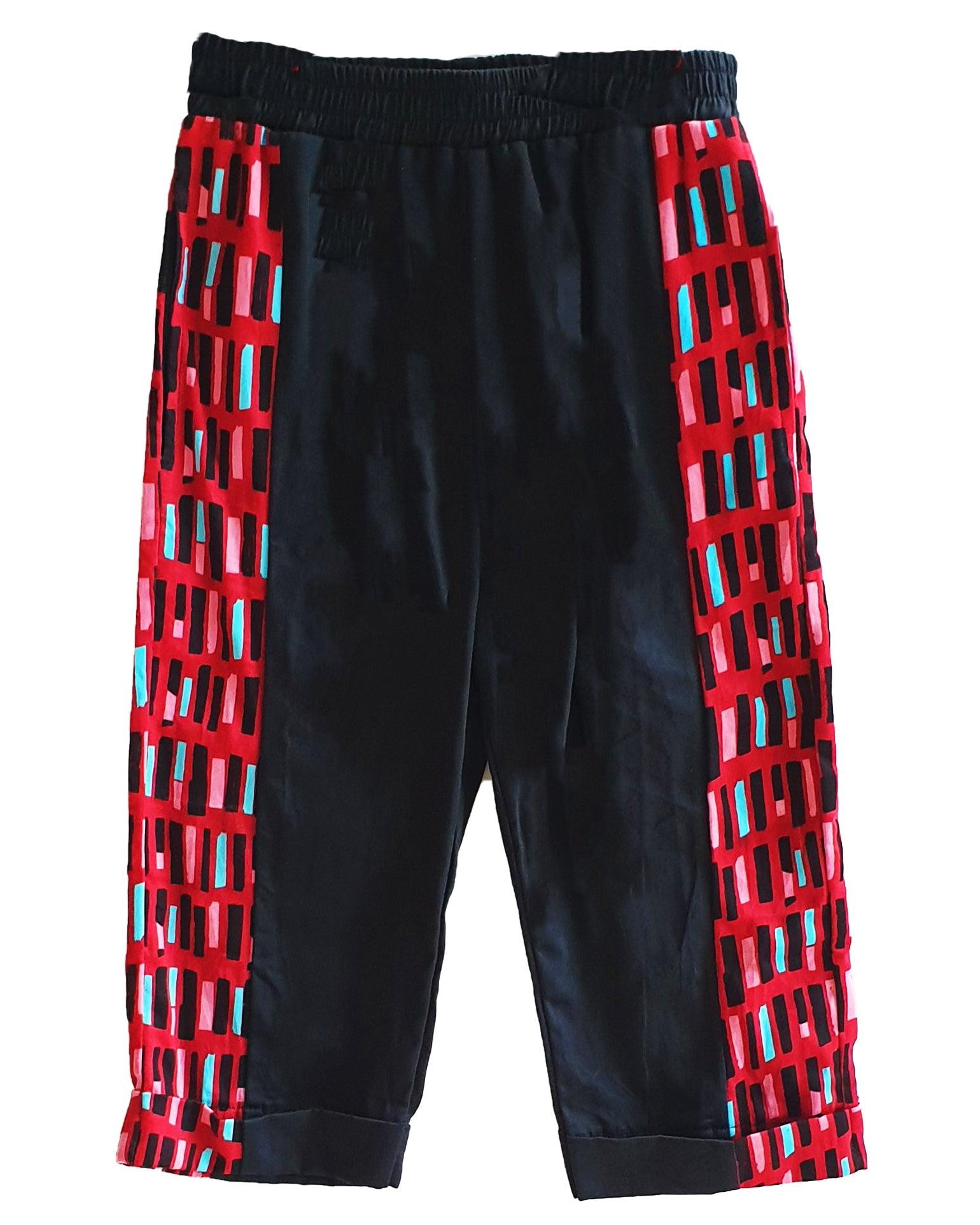 Fugees Dash Roll Up Trousers