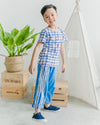 Striped Easy Fit  Trousers- Unisex - Roses & Rhinos