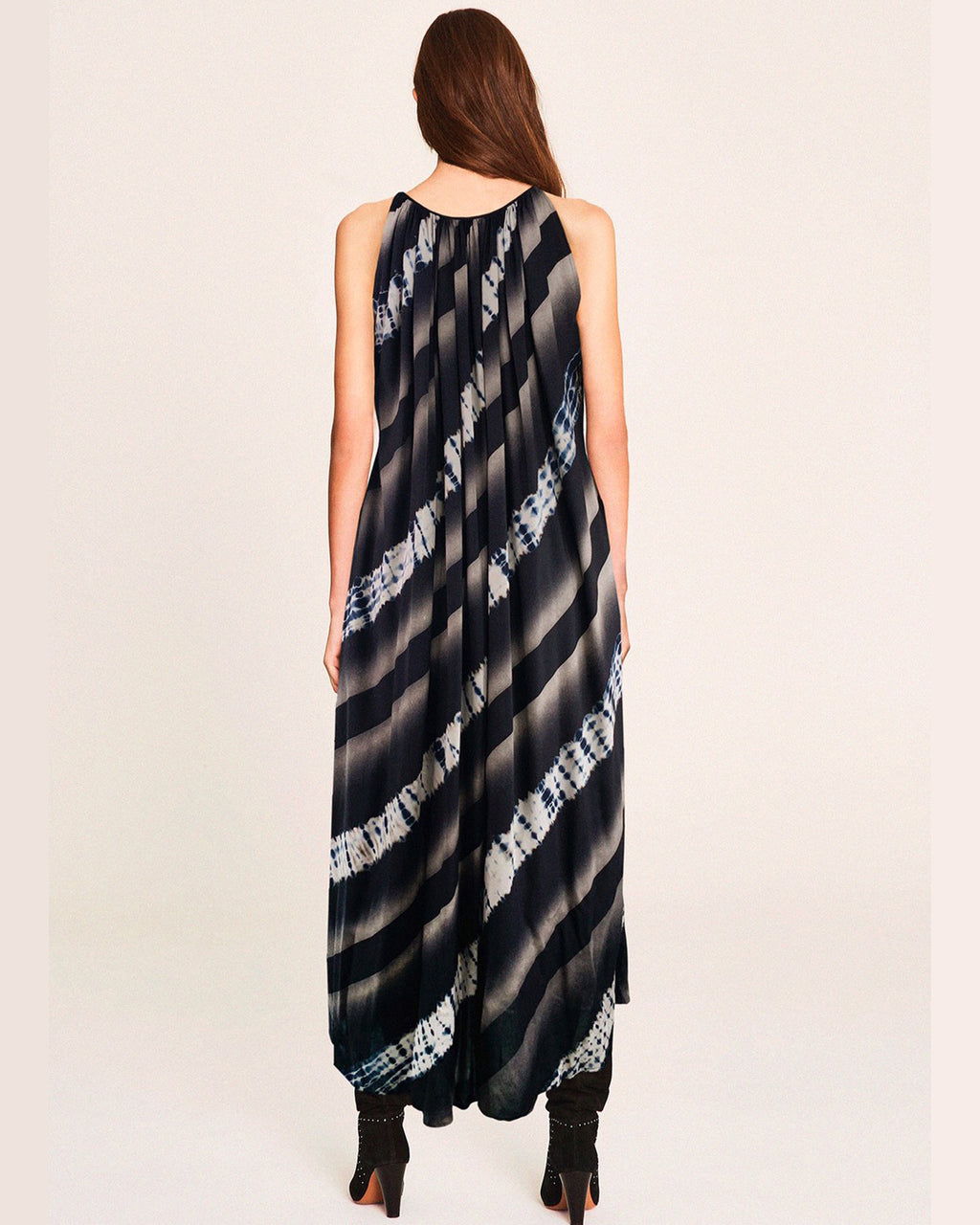 Women Tento Slash Maxi Dress - Roses & Rhinos