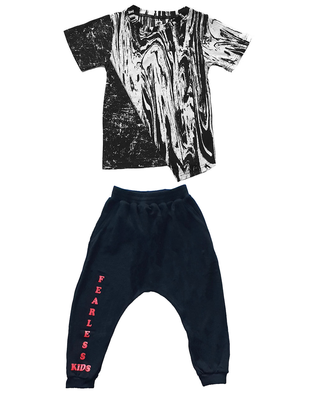 Waves Mish Mash and Fearless Track Pants Set - Roses & Rhinos