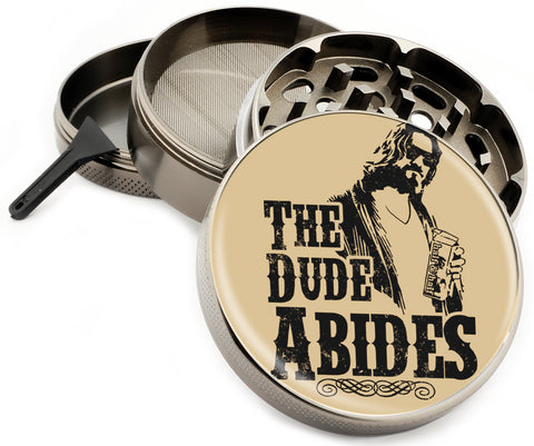 The Dude Abides Herb Grinder