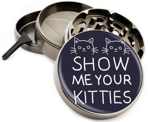 Show Me Your Kitties Herb Grinder