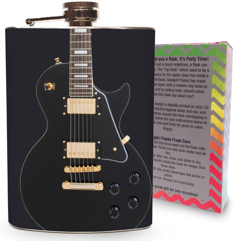 Guitar Hip Flask for Alcohol - Liquor Flask