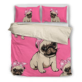 Pug Bedding Set P61