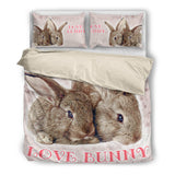 Rabbit Bedding Set 1010 VS4