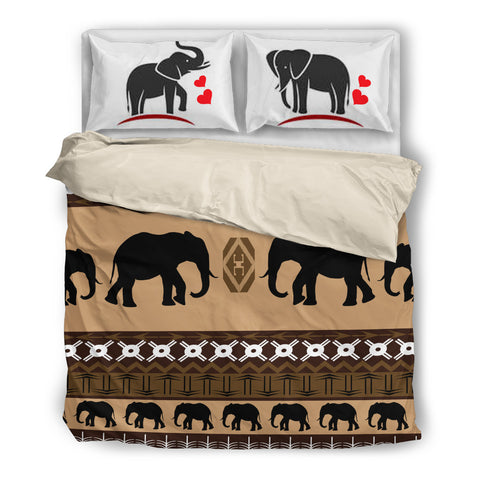 Elephant Bedding Set 2110