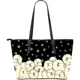 Chow Chow Leather Tote Bag L Flow tDe30ntp