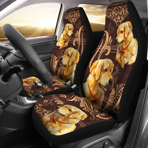 Golden Retriever Car Seat Covers 0102PM