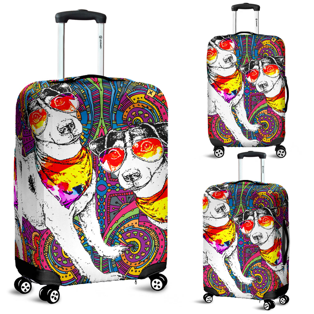 Jack Russell Luggage Covers 2403TH