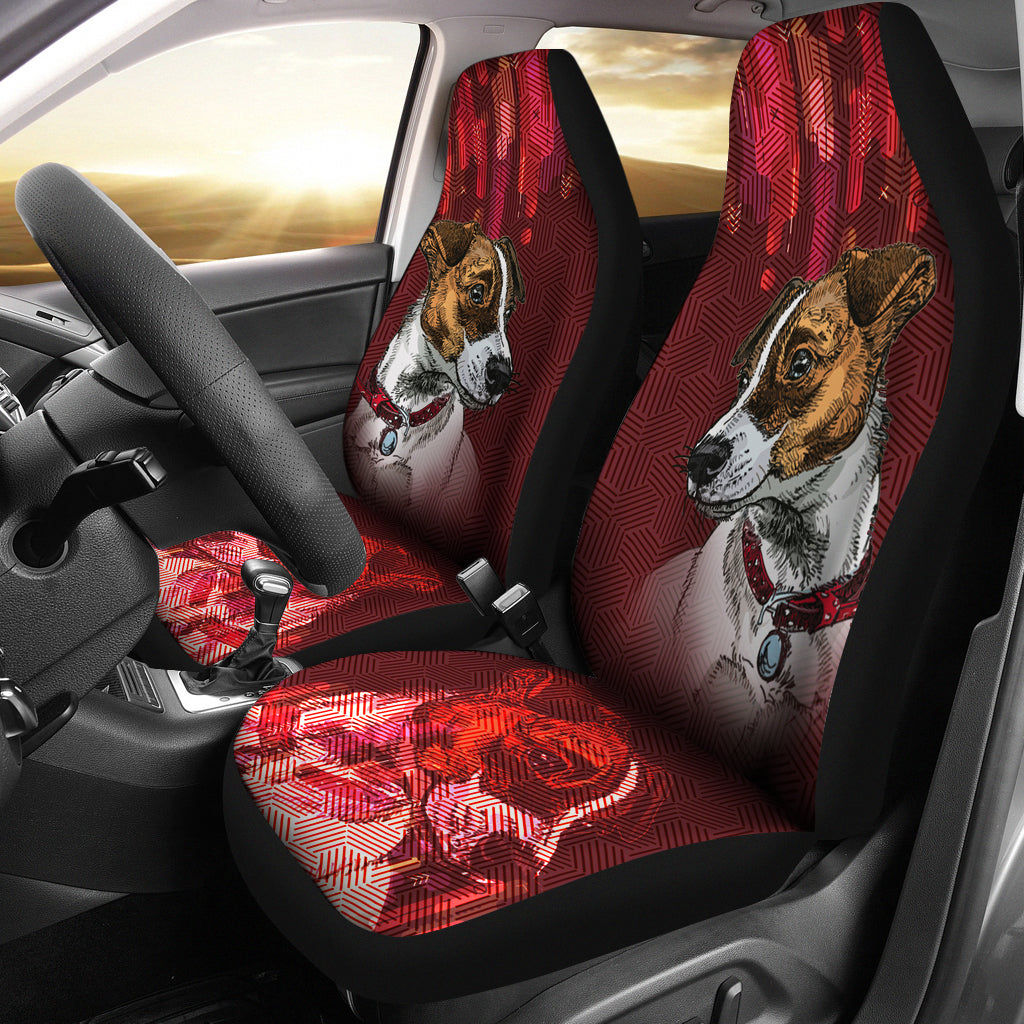 Jack russell Car Seat Covers 202TP