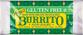 AMY'S KITCHEN BEAN & RICE BURRITO GLUTEN FREE 156g