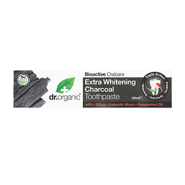 DR ORGANIC TOOTHPASTE WHITENING ACTIVATED CHARCOAL