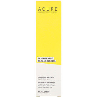 ACURE BRIGHTENING FACIAL CLEANSING GEL 118ml