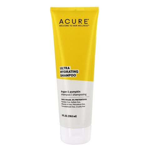 ACURE ULTRA HYDRATING SHAMPOO ARGAN & PUMPKIN OIL 236.5ml