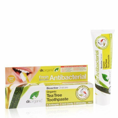 DR ORGANIC TOOTHPASTE TEA TREE