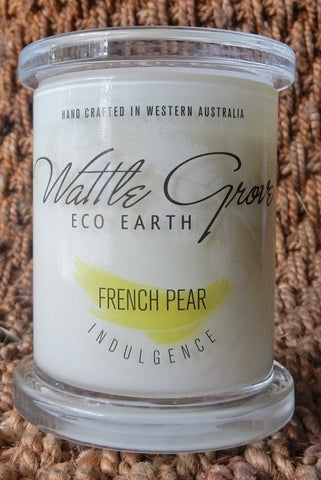 WATTLE GROVE CANDLE FRENCH PEAR MEDIUM