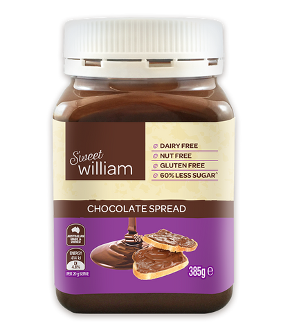 SWEET WILLIAM CHOCOLATE SPREAD