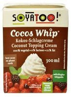 SOYATOO COCOS WHIP TOPPING CREAM