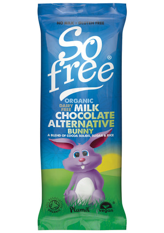 SO FREE DAIRY FREE MILK CHOCOLATE EASTER BUNNY