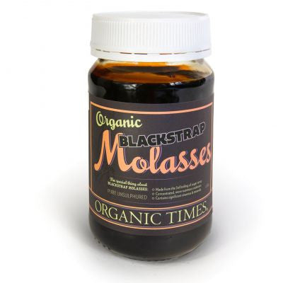 ORGANIC TIMES BLACK STRAP MOLASSES