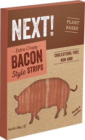 NEXT! EXTRA CRISPY BACON STYLE STRIPS