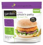 GARDEIN CRISPY CHICK'N PATTIES