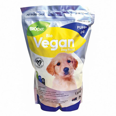 BIOPET VEGAN DOG FOOD PUPPY 1.25KG