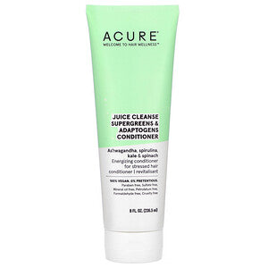 ACURE  JUICE CLEANSE SUPERGREENS & ADAPTOGENS CONDITIONER 236.5ml
