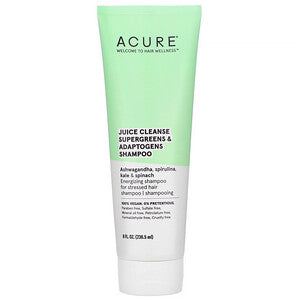 ACURE  JUICE CLEANSE SUPERGREENS & ADAPTOGENS SHAMPOO 236.5ml