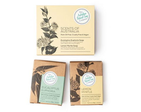 AUSTRALIAN NATURAL SOAP COMPANY SCENTS OF AUSTRALIA GIFT PACK